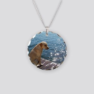 Yellow Labrador Necklace