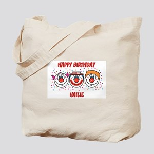 Happy Birthday HAILIE (clowns Tote Bag