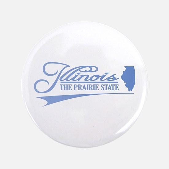 """Illinois State of Mine 3.5"""" Button"""