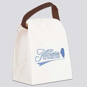 Illinois State of Mine Canvas Lunch Bag