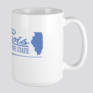 Illinois State of Mine Mugs