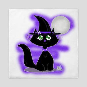 Halloween Cat and Mouse Queen Duvet