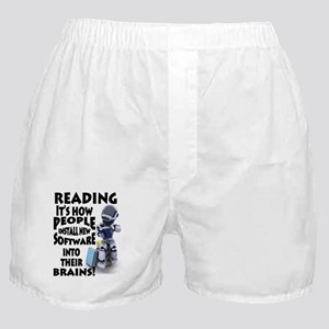 Reading Software Boxer Shorts