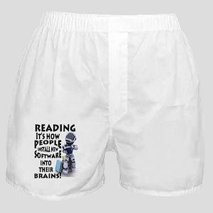 Reading Software Boxer Shorts