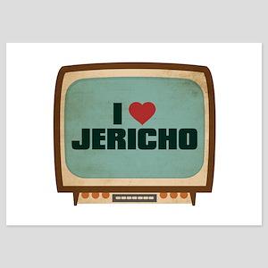Retro I Heart Jericho 5x7 Flat Cards