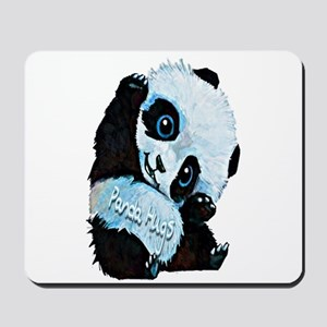 Panda Hugs Mousepad