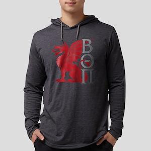 Beta Theta Pi Dragon Letters Long Sleeve T-Shirt