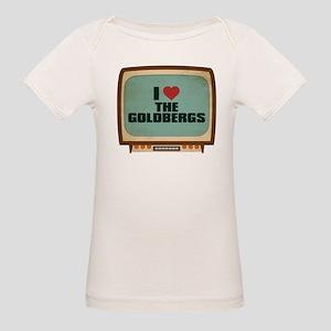 Retro I Heart The Goldbergs Organic Baby T-Shirt