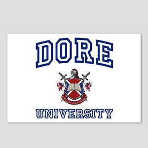 DORE University Postcards (Package of 8)