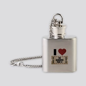 I Heart The Hangover Part II Ticket Flask Necklace