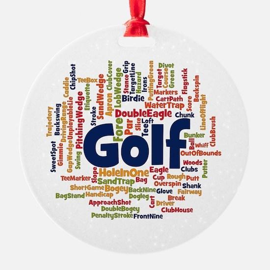 Cute Frisbee golfer Ornament