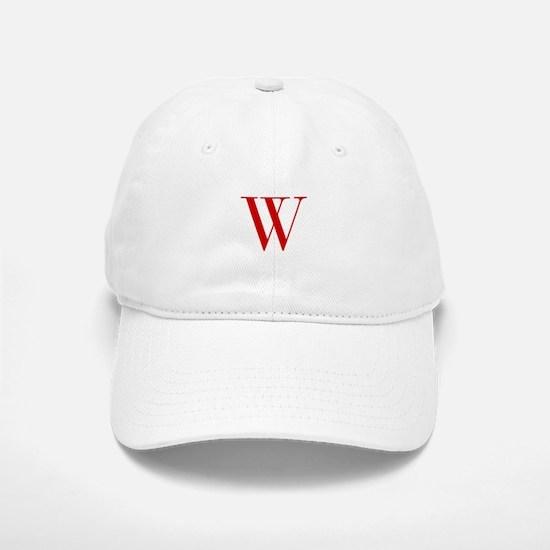 W-bod red2 Baseball Baseball Baseball Cap