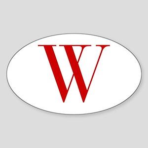W-bod red2 Sticker