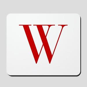 W-bod red2 Mousepad