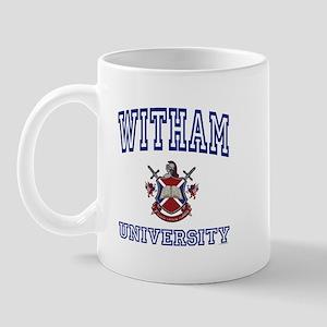 WITHAM University Mug