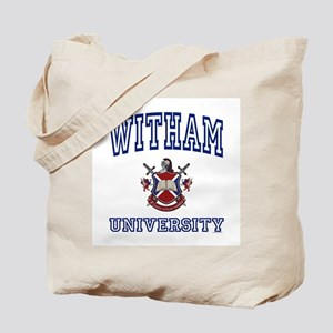 WITHAM University Tote Bag