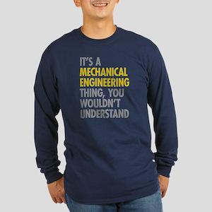 Mechanical Engineering Th Long Sleeve Dark T-Shirt