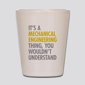 Mechanical Engineering Thing Shot Glass