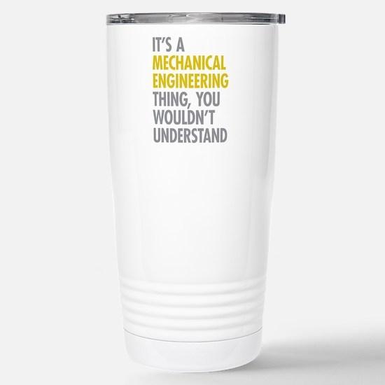 Mechanical Engineering Stainless Steel Travel Mug