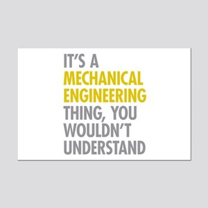 Mechanical Engineering Thing Mini Poster Print