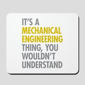 Mechanical Engineering Thing Mousepad
