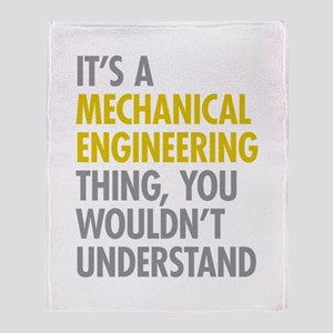 Mechanical Engineering Thing Throw Blanket