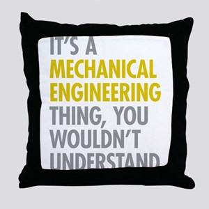 Mechanical Engineering Thing Throw Pillow