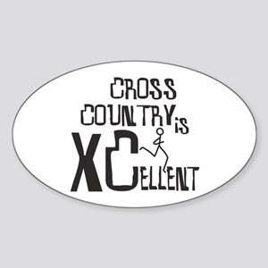 XC Cross Country Sticker