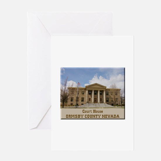 Ormsby County Court House Greeting Cards