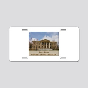 Ormsby County Court House Aluminum License Plate