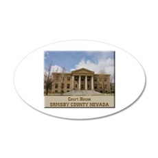 Ormsby County Court House Wall Decal