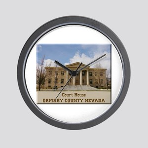Ormsby County Court House Wall Clock