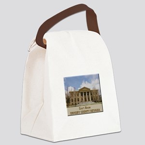 Ormsby County Court House Canvas Lunch Bag