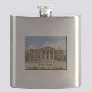 Ormsby County Court House Flask