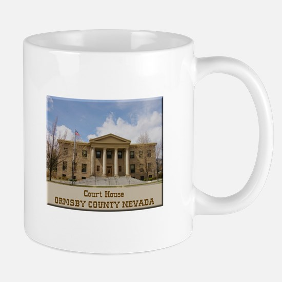 Ormsby County Court House Mugs