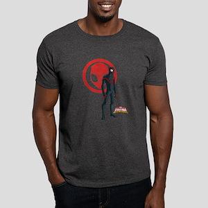 Ultimate Spider-Man Miles Morales Sta Dark T-Shirt