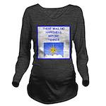 tennis Long Sleeve Maternity T-Shirt