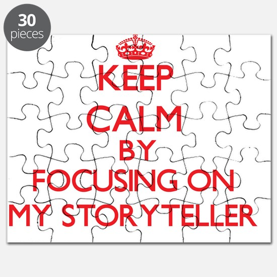 Keep Calm by focusing on My Storyteller Puzzle