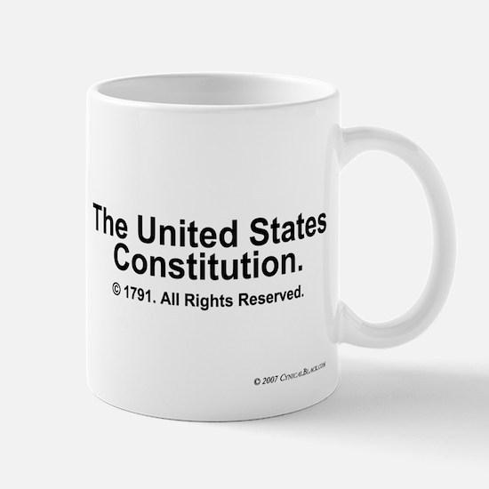 US Constitution Mug