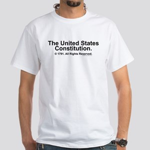 US Constitution White T-Shirt