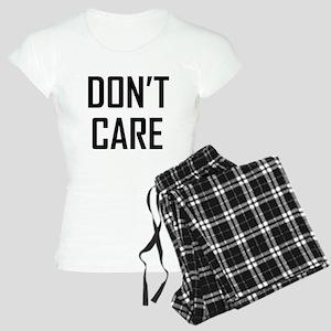 DON'T CARE Pajamas