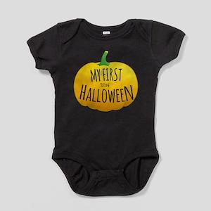Custom My First Halloween Baby Bodysuit