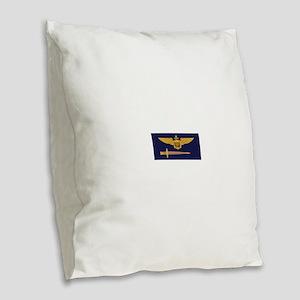 vf32 Burlap Throw Pillow