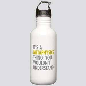 Its A Metaphysics Thin Stainless Water Bottle 1.0L