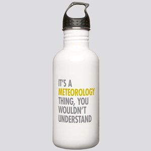 Its A Meteorology Thin Stainless Water Bottle 1.0L