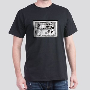 Daddy's Got to Bounce Black T-Shirt