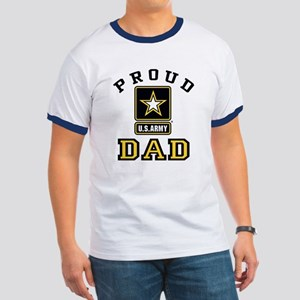 Proud U.S. Army Dad Ringer T