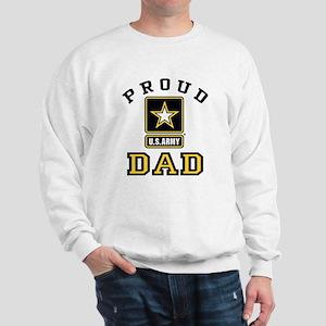 Proud U.S. Army Dad Sweatshirt