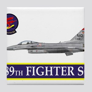 389grey Tile Coaster