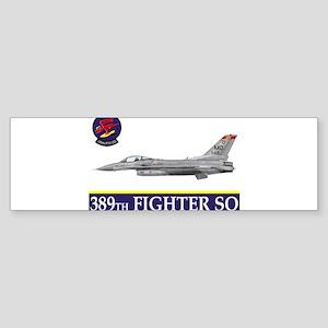 389grey Bumper Sticker